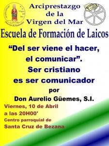 Escuela de laicos 10-04-15