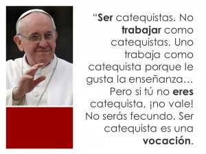 Ser catequista