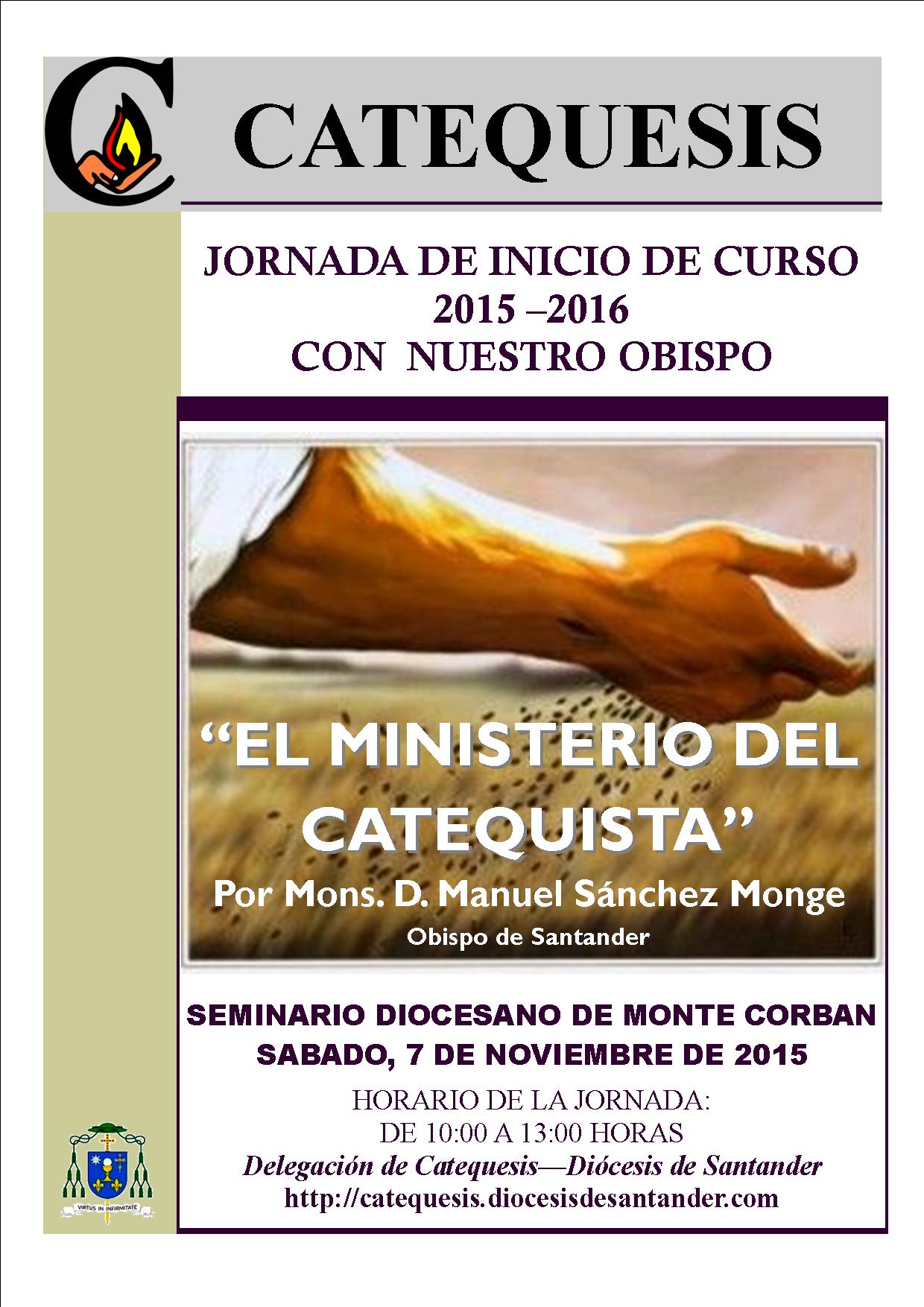 Cartel Jornada Catequistas con el Obispo_07-11-15