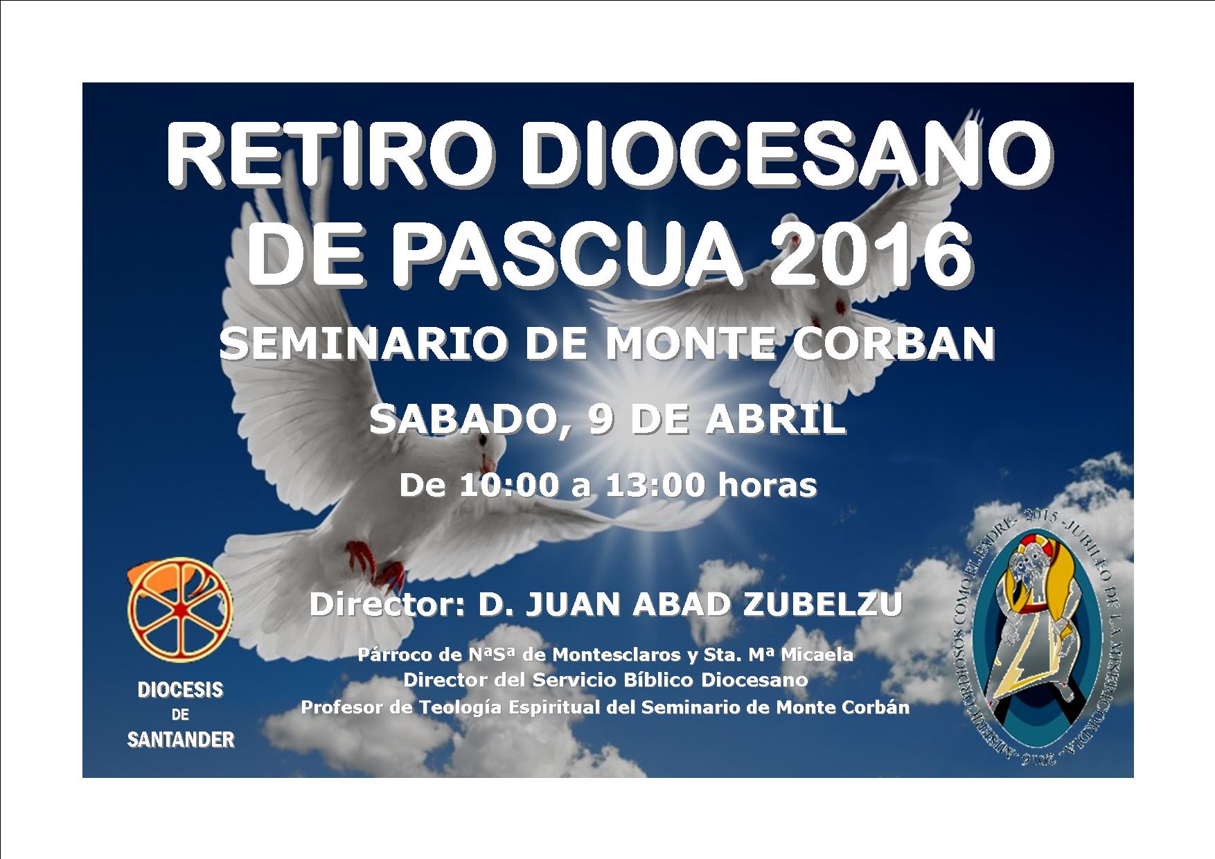 Retiro Diocesano de Pascua 2016